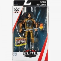 SETH ROLLINS ACTION FIGURE MATTEL WWE ELITE 57 MOC MAINAN TOY