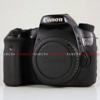 Kamera DSLR Canon EOS 70D WiFi Body, Fulset Murah Surabaya