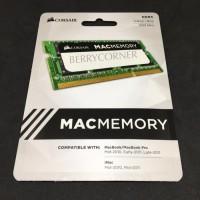 Corsair 8GB DDR3 1333 MHz SODIMM Mac IMac MacBook Pro RAM Memory