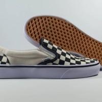 Sepatu Running VANS SLIP ON CHECKER BOARD Replika Impor