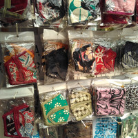 masker kain batik 1 lusin