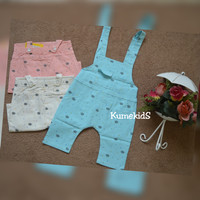 Celana Overall Anak Import Cloudy