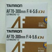 Lensa zoom tamron tele AF70-300mm for canon/nikon