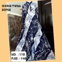 GAMIS TWILL SUPER / GAMIS PELANGI / GAMIS BLACK WHITE