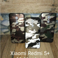 Case Army Xiaomi Redmi 5+ 5 Plus Xiomi Softcase Casing Cover Hp
