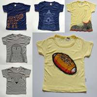 Harga Kaos Anak Tshirt Penguin 6 in 1 Size L 3 4 tahun by Kazel  