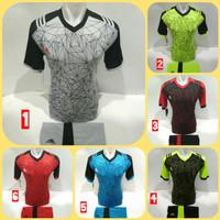 Baju Kaos Olahraga Jersey Bola Setelan Kostum Futsal / Voli Ad 02
