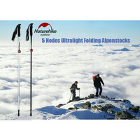 trekking pole naturehike NH15A023-Z walking tongkat gunung mendaki