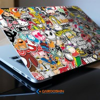 Garskin Notebook Lenovo 10 Inch Bomb Sticker Custom