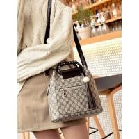 tas selempang shoulder satchels postman bag emas motif cantik wanita