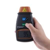 LCD Digital Laser Photo Tachometer 2.5 100000 RPM   DT 2234C+