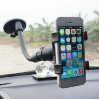 Car Phone Holder (Model jepit, muat hp uk kecil hingga hp max 6 INCH)