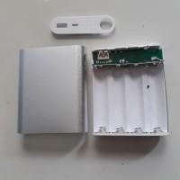 Jual case casing power bank isi 4 pcs batre laptop 18650 Murah