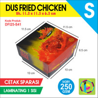 Dus Fried Chicken IVORY 250 GSM Full Color Laminating