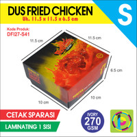 Dus Fried Chicken IVORY 270 GSM Full Color  Laminating