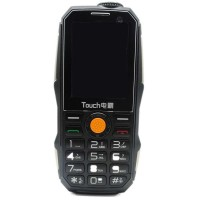 Touch Handphone Dual SIM Multifungsi Power Bank Hitam