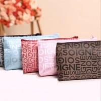 Travelmate SALE Tas Kosmetik Korea Motif Abjad / Korean Cosmetic Bag/