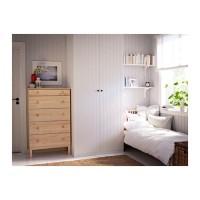 lemari pakaian IKEA TARVA Lemari Laci Kayu Pinus Solid 3 laci, 79x127