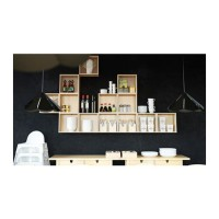 Perlengkapan Dapur IKEA FORHOJA Kabinet dinding 30x30 cm, kayu birch