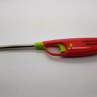 KENMASTER Gas Lighter Model 002 02 Korek Api Gas Pemantik Kompor