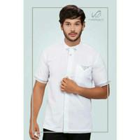 New Kemeja Baju Koko Pria Rabbani Arjasari Putih fashionable Produk