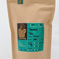 Jual kopi bubuk biji green bean roasted bean robusta lampung (200gr) Murah