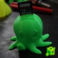 SD Card Holder Octopus