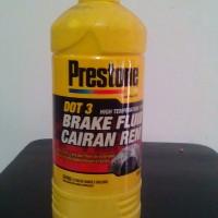 Minyak Cairan Rem Brake Fluid DOT 3 Putih/ Netral Prestone 1 Liter
