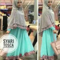 Syari Syafina Gamis Maxi Syari Baju Muslim Remaja Wanita Bagus Murah