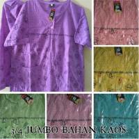 Baju Tidur Babydoll 3/4 Jumbo Xxl Bahan Kaos/ Baju Tidur Setelan Murah