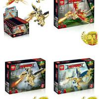 MAINAN LEGO BRICK LEPIN 03043 NINJA GIANT GRAGON 3 IN 1
