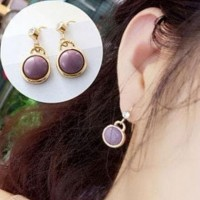 Anting Tusuk Gantung Lapis Emas Perhiasan Imitasi Zivon Jewelry LYS26