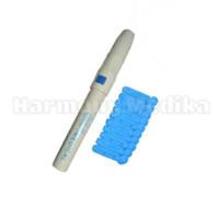 Jual Lancing Device/ Alat Tusuk Tes Gula Darah Easytouch Nesco Gluco Dr Murah