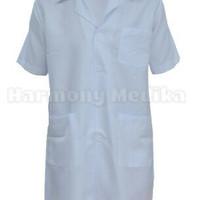 Jas Lab/ Jas Praktikum/ Baju Laboratorium Lengan Pendek