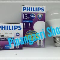 Jual Lampu LED Philips 13 watt Bohlam 13w/ Philip Putih 13 w Bulb 13watt Murah