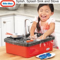 Jual Little Tikes Splish, Splash Sink and Stove mainan masak cuci piring Murah