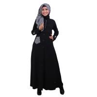Baju Gamis Pesta Untuk Orang Gemuk, Gamis Warna Hitam Model Terbaru