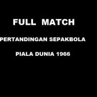 Argentina vs Jerman Barat - Full Pertandingan Piala Dunia 1966