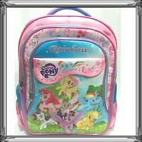 Jual tas ransel sekolah anak perempuan SD Karakter my little Pony murah Murah
