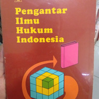 Jual BUKU PENGANTAR ILMU HUKUM INDONESIA - Mudjiono Murah