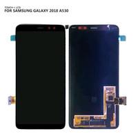 LCD FOR SAMSUNG Galaxy A8 2018 A530 A530F A530DS A530N Original