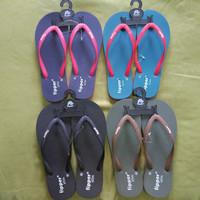 Sandal Fipper Wanita Import Original Made in Thailand