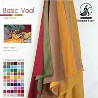 Hijab Voal Polos Umama/Segiempat Voal Basic UMAMA