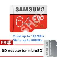 Samsung Ultra MicroSD 64Gb A1 100mb/s microSD