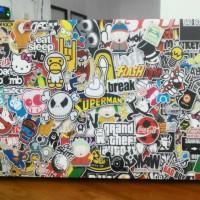 Garskin Laptop Samsung Online 10 Inch (Luar Saja)