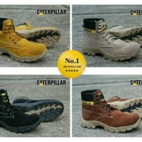 Sepatu Boots Pria CAT Caterpillar Diesel