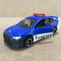 Tomica Mitsubishi Lancer Evolution X with Plakids Loose New