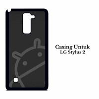 Case LG Stylus 2 android logo wallpaper Custom Hard Casing