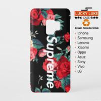 Supreme Floral case samsung s9 s8 j7 j3 zenfone 4 5 max oppo f5 f3 a37