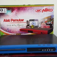 DVD MP4 Player Niko NK3510 Bisa Flashdisk